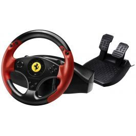 THRUSTMASTER Sada volantu a pedálů  Ferrari Red Legend Edition pro PS3 a PC - z o