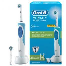 ORAL B Zubní kartáček Oral-B D12 Vitality 2D se dvěma koncovkami Cross Action