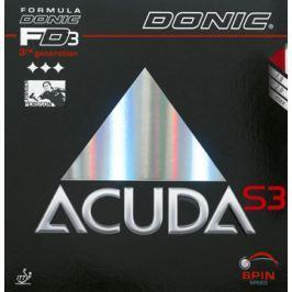 Donic Potah  Acuda  S3, černá, 1,8 mm