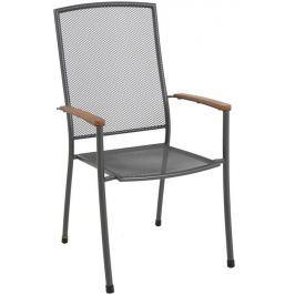 MWH Masao stohovatelná židle z tahokovu 66,5 x 57,5 x 101 cm