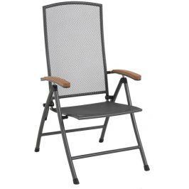 MWH Masao polohovatelná židle z tahokovu 70 x 59 x 109 cm