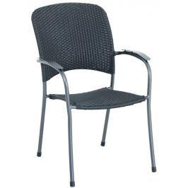 MWH Carlos designová stohovatelná židle z tahokovu 66 x 59 x 89 cm