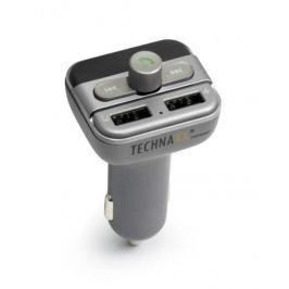 Technaxx FM transmitter  FMT900BT, šedý