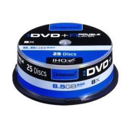 Intenso foto DVD+R DL DoubleLayer Intenso [ cakebox 25 | 8,5GB | 8x ]