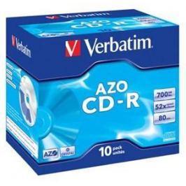 Verbatim Disk  CD-R 700MB/80min, 52x, jewel box, 10ks