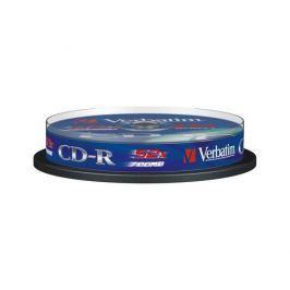 Verbatim Disk  Extra Protection CD-R 700MB/80min, 52x, 10-cake