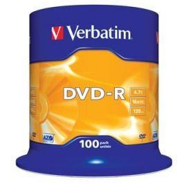 Verbatim Disk  DVD-R 4,7GB, 16x, 100-cake