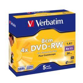 Verbatim Médium  DVD+RW 1,4GB 4x silver 8cm HardCoat