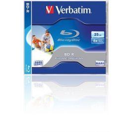 Verbatim BD-R Blu-Ray SL, Printable, 25GB, 6x, , jewel box