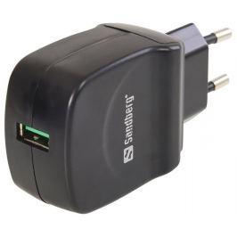 SANDBERG AC Charger QC 3.0 USB EU+UK+US síťová nabíječka
