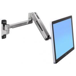 Ergotron LX HD Sit-Stand Wall Mount LCD Arm, Polished, velmi flexibilní rameno n