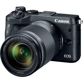 Canon EOS M6 Body Black + EF-M 18-150 IS STM,  bezzrcadlovka