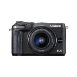 Canon EOS M6 Body Black + EF-M 15-45 IS STM + EF-M 55-200