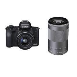 Canon Kompakty s vým.objek  EOS M50 Black+EF-M15-45+EF-M55-200