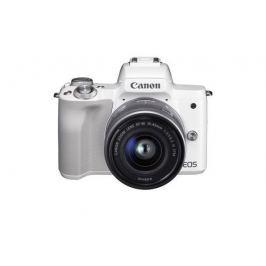 Canon EOS M50 White + EF-M 15-45 - SELEKCE SIP