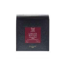 DAMMANN Černý čaj 4 Fruit Rouges, 25 sáčků,