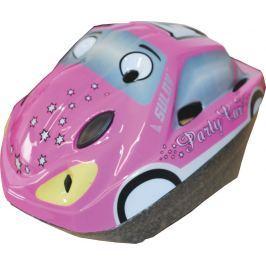 Sulov Dětská cyklo helma  CAR, růžová, M