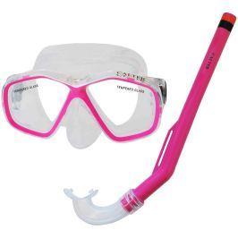 Rulyt Potápěčský set CALTER KIDS S06+M278 PVC, růžový