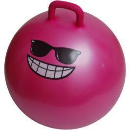Lifefit Dětský skákací míč  JUMPING BALL 55 cm, růžový