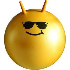 Lifefit Dětský skákací míč  JUMPING BALL 55 cm, oranžový