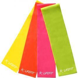 Lifefit Posilovací guma  FLEXBAND 0,45, žlutá