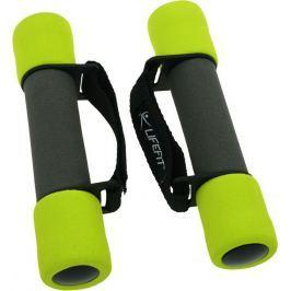 Lifefit Činky molitanové s páskem  PLUS 2 x 0,5 kg