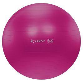 Lifefit Gymnastický míč  ANTI-BURST 55 cm, bordó