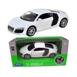 Welly - Audi R8 V10 model RC 1:24 bílý