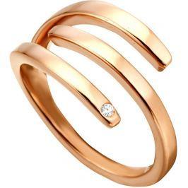 Esprit Stylový bronzový prsten Iva ESRG001616, 51 mm