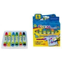 SMT Creatoys Fixy na textil vodě odolné 6ks v krabičce 13x13cm