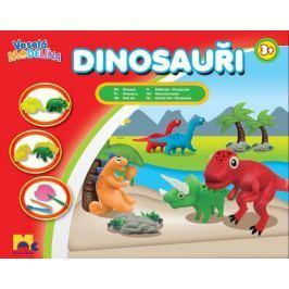 MAC TOYS Veselá modelína Dinosauři