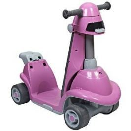 Odrážedlo auto All in one růžové