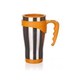 BANQUET Hrnek cestovní AKCENT Orange 430 ml