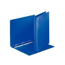 ESSELTE Kroužkový pořadač, s průhlednými kapsami, modrá, 4 D kroužky, 35 mm, A4, PP, ESS