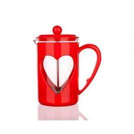 BANQUET Konvice na kávu DARBY 0,8 l, červená