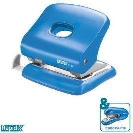 RAPID Stolní děrovačka  FC30, Světle modrá