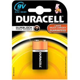 DURACELL Baterie alkalická  BASIC 9V 1604 K1