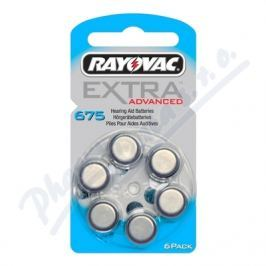 RAYOVAC Baterie do naslouch. Extra Adv.675/PR44 6ks