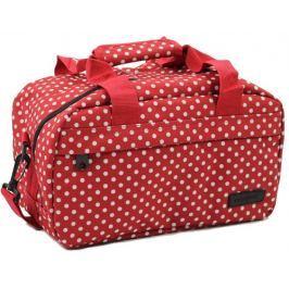 Member?s Member's Cestovní taška 14L SB-0043 červená/bílá