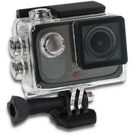 Qoltec Waterproof Sports Camera Full HD  2'' | 4K | black
