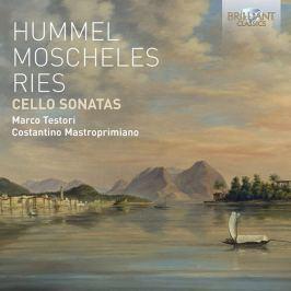 CD Hummel/Moscheles/Ries : Cello Sonatas