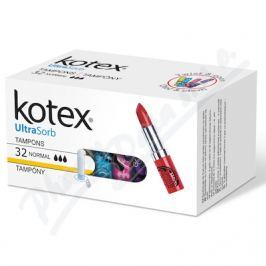 KIMBERLY CLARK KOTEX Tampony Ultra Sorb Normal 32ks