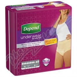 KIMBERLY-CLARK Inkont.kalh.abs.DEPEND Maximum XL pro ženy 9ks