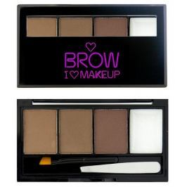 Makeup Revolution Set na obočí Přirozeně upravená I LOVE MAKEUP (Brow Kit I Woke Up This Groomed) 3