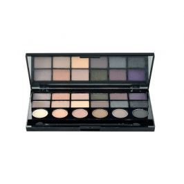 Makeup Revolution London  - Hard Day Eyeshadow Palette 13g Make-up  W 18 očních stínů