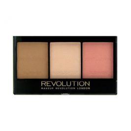 Makeup Revolution Rozjasňující konturovací sada na obličej (Ultra Brightening Contour Kit), C01