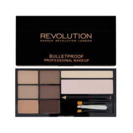 Makeup Revolution Ultra Paletka na obočí (Ultra Brow), Fair to Medium