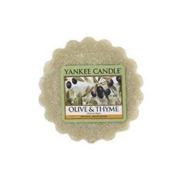 Yankee Candle Vonný vosk do aromalampy Olivy a tymián (Olive & Thyme) 22 g