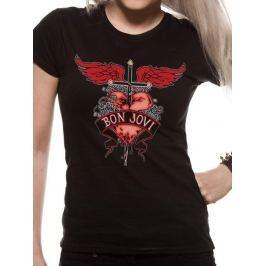 Bon Jovi - Heart & Dagger, dámské tričko S