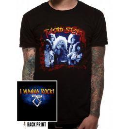 Twisted Sister - I Wanna Rock, pánské tričko M
